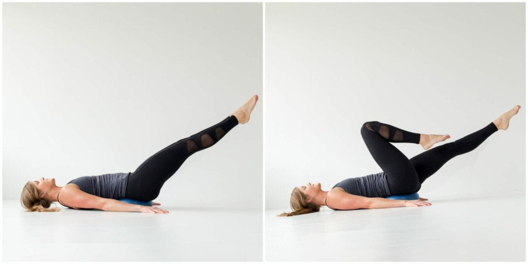 Lower Abs Exercises For Flat, Toned Stomach - Bicyles -- www.nourishmovelove.com