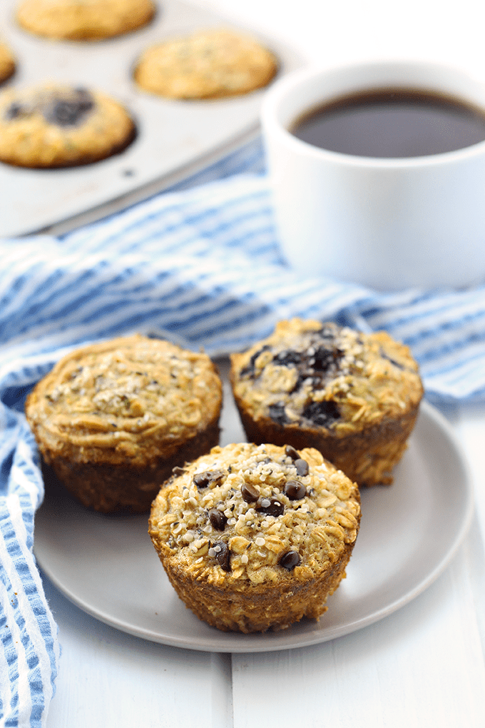 Customizable Protein-Packed Oatmeal Cups