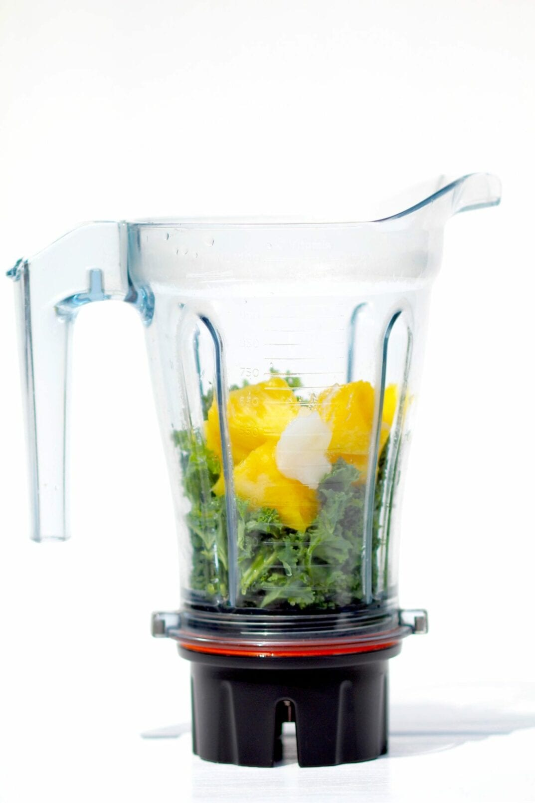 Energy Boosting Kale + Pineapple Green Smoothie