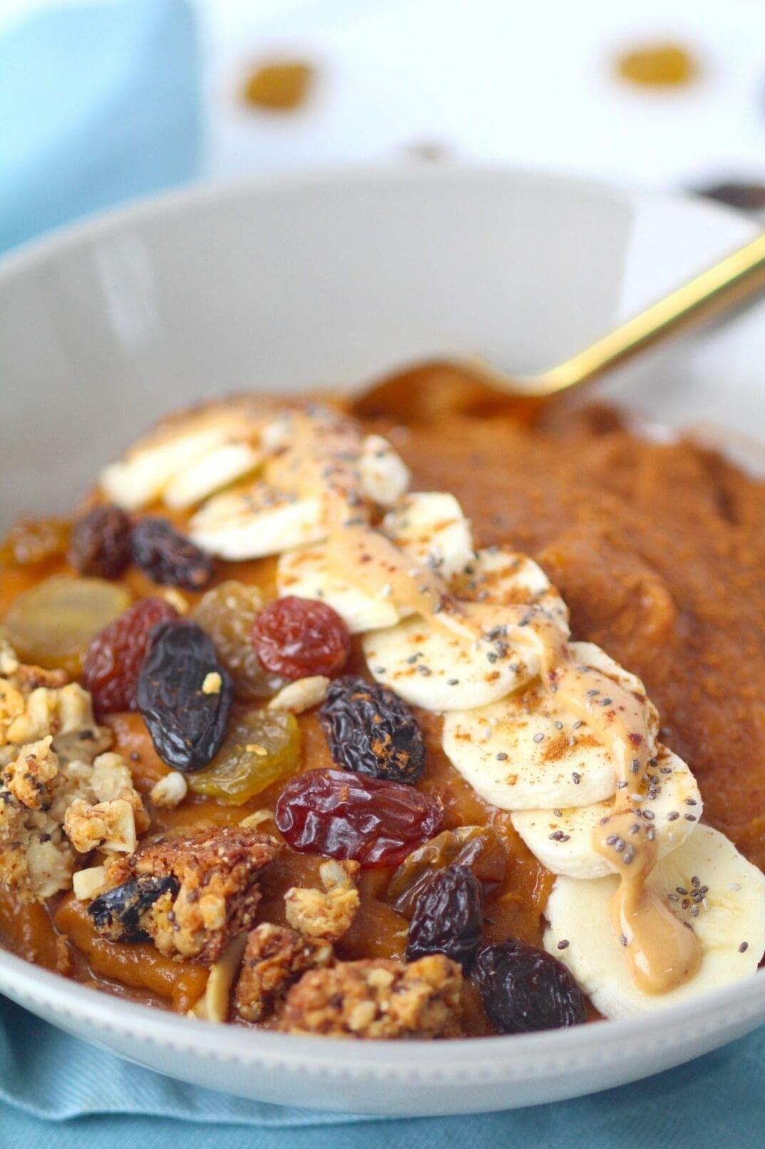 Simple Sweet Potato Breakfast Bowl