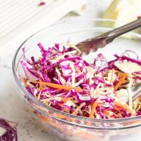 Red Wine Vinegar Coleslaw