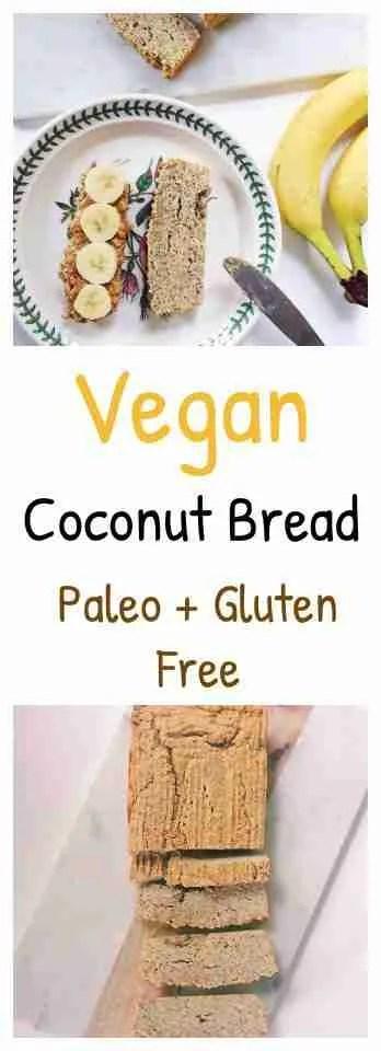 vegan coconut bread recipe