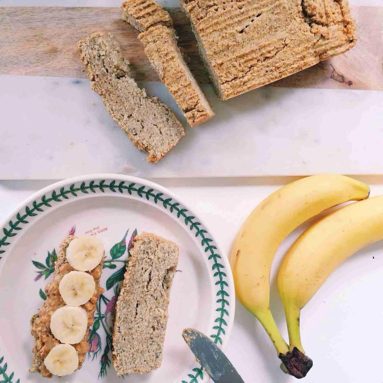 Coconut Bread Recipe. Vegan, gluten free and healthy