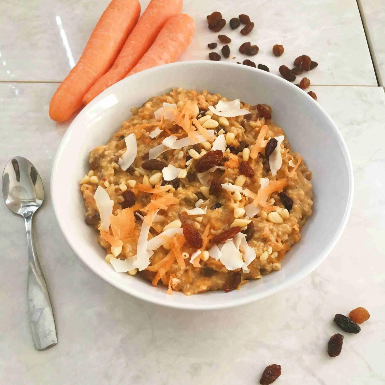 Carrot Cake Porridge Recipe
