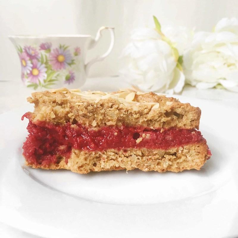healthy raspberry bakewell cake recipe