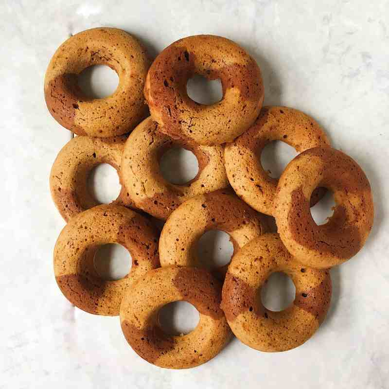 Almond Butter and Chocolate Baked Doughnut Recipe