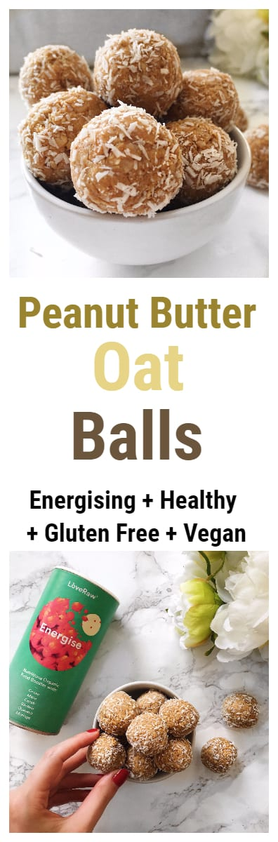 Energising Peanut Butter Oat Balls Recipe