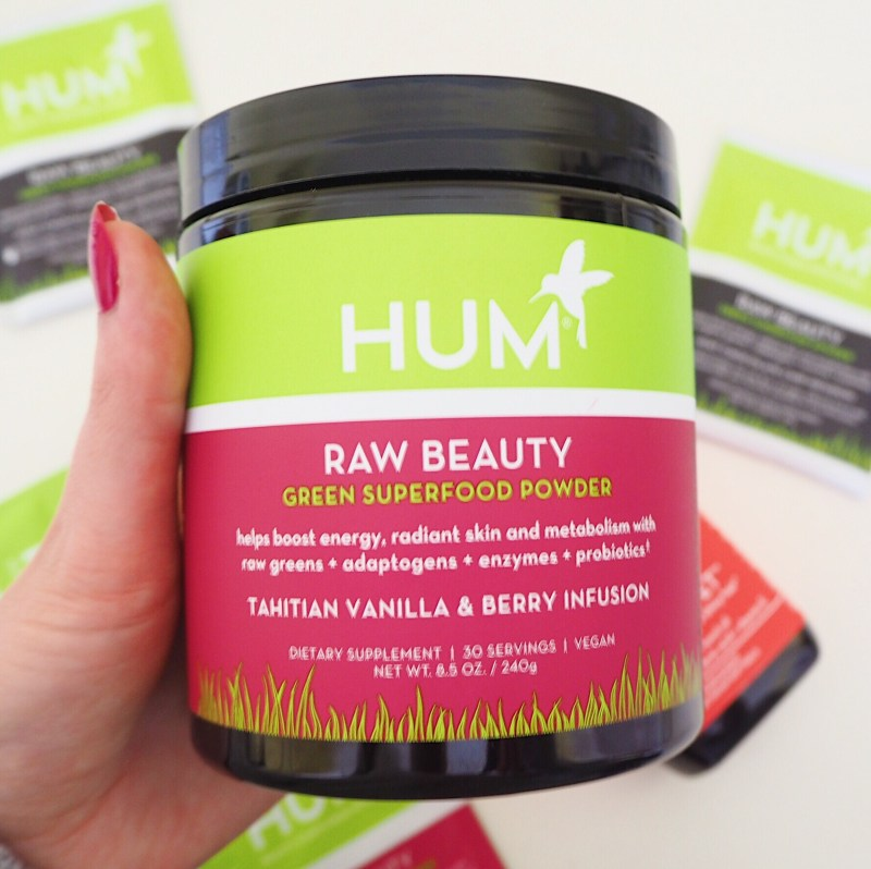 Hum Nutrition Supplements Review Raw Beauty Super Foods Powder