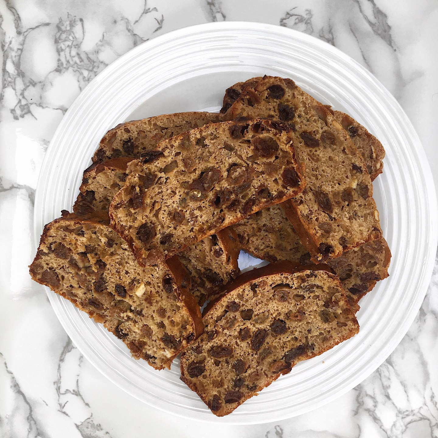 Easy and Simple Healthy Chai Tea Fruit Loaf