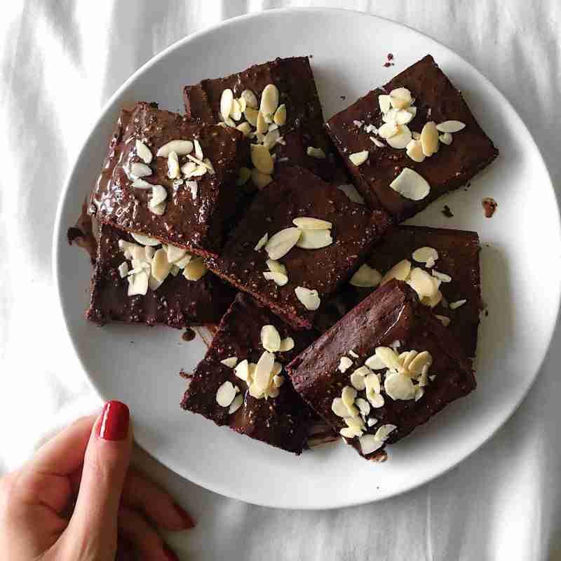 Healthy Vegan Brownies Recipe - easy
