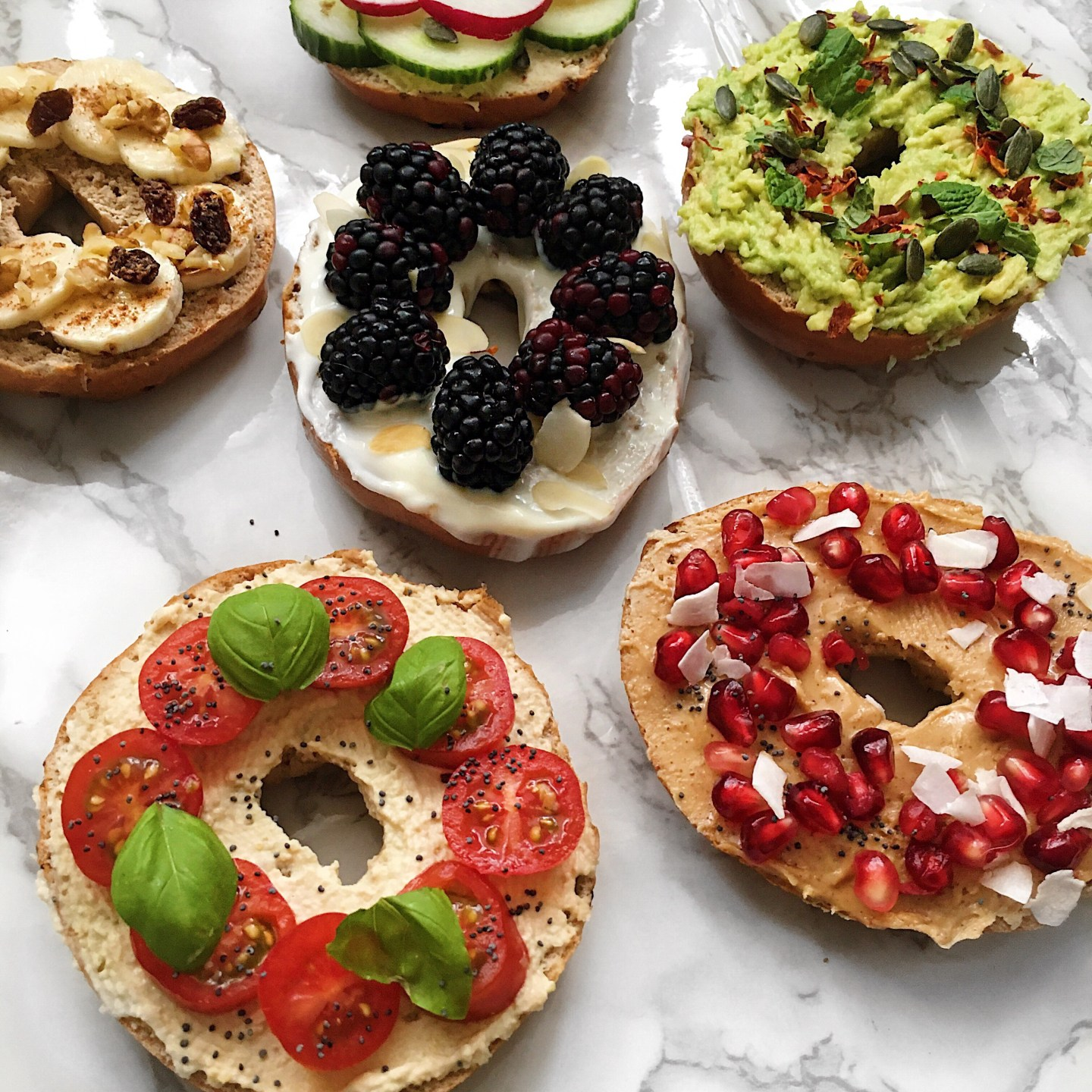 My Favourite Healthy Bagel Toppings