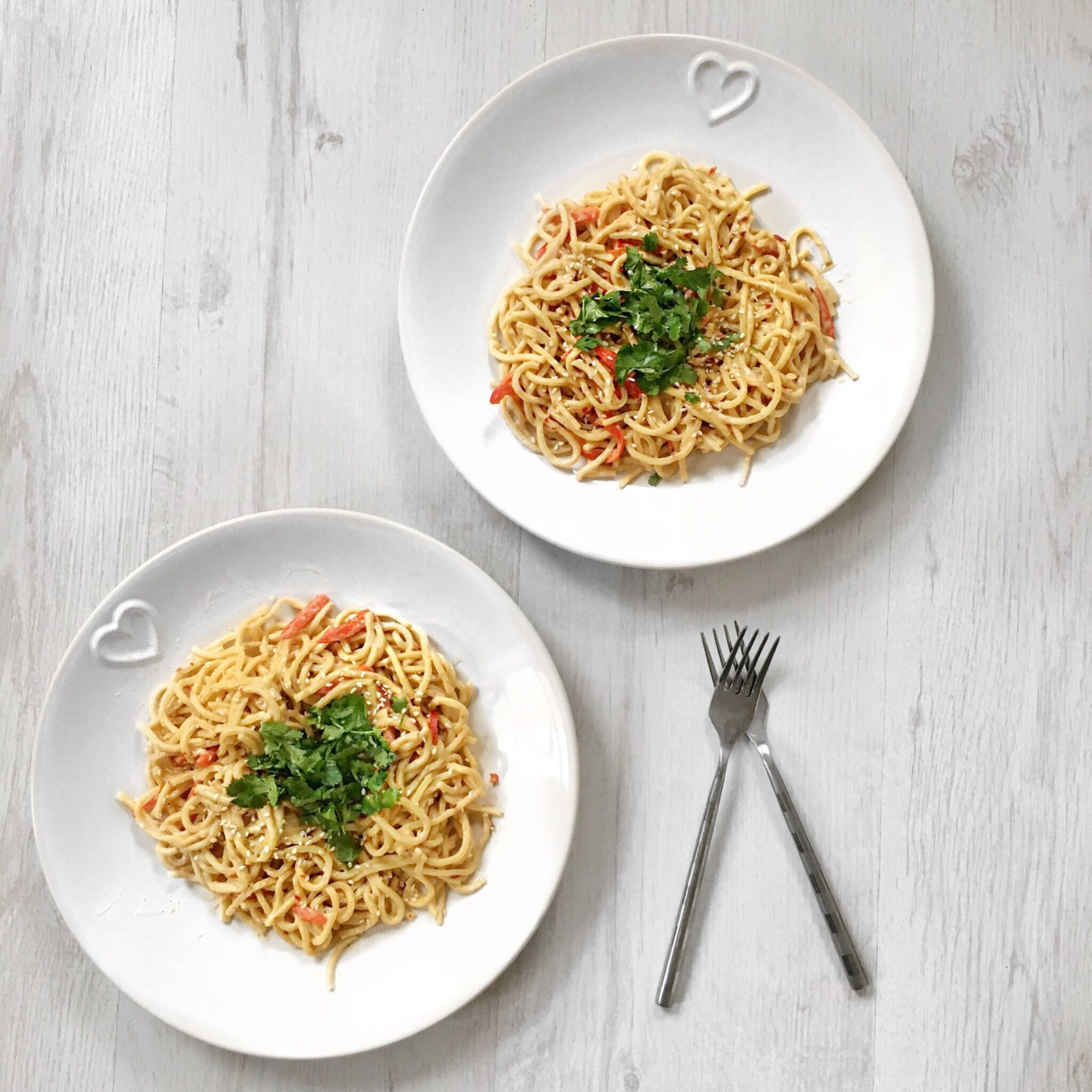 Quick + Easy Sesame and Peanut Butter Noodles