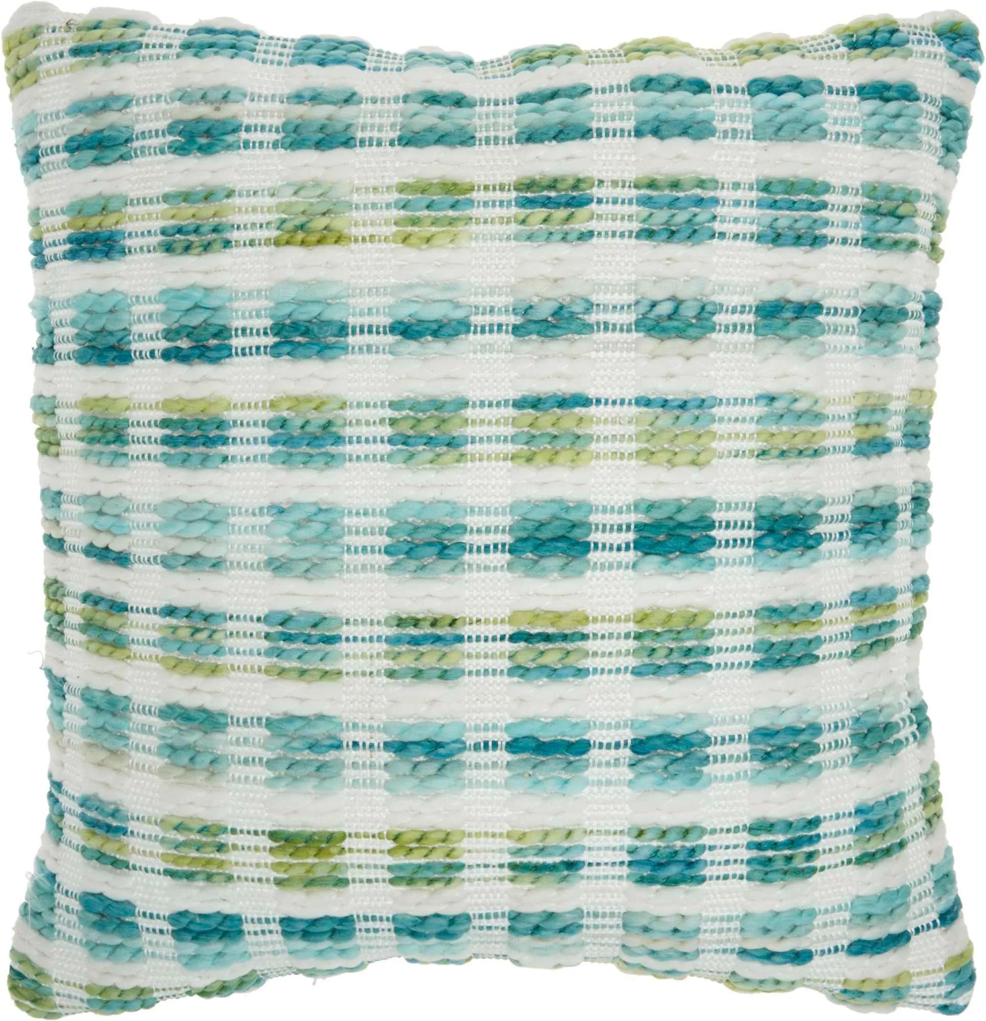 outdoor pillows sh409 turqois green 18