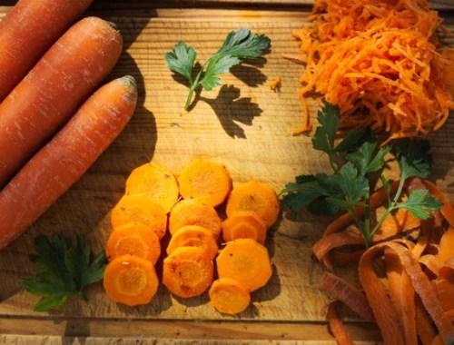 Des carottes sous différentes formes