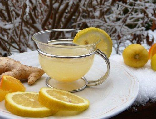 boisson citron gingembre pour le système immunitaire