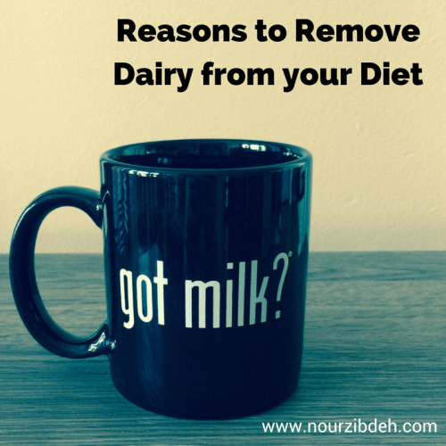 Reason to Remove Dairy from your Diet