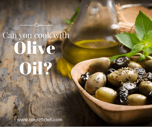Is cooking with olive oil healthy or hamrful?