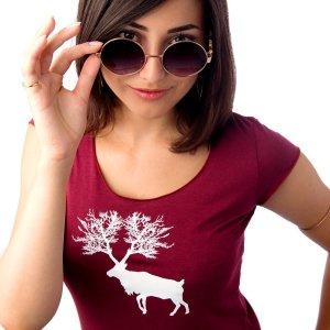 T-shirt caribou femme plb