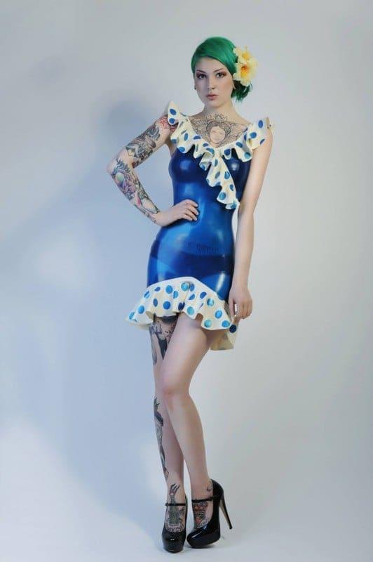 Découverte de Mademoiselle Ilo, une créatrice Française de tenues Latex et Fetish sublimes - NXPL