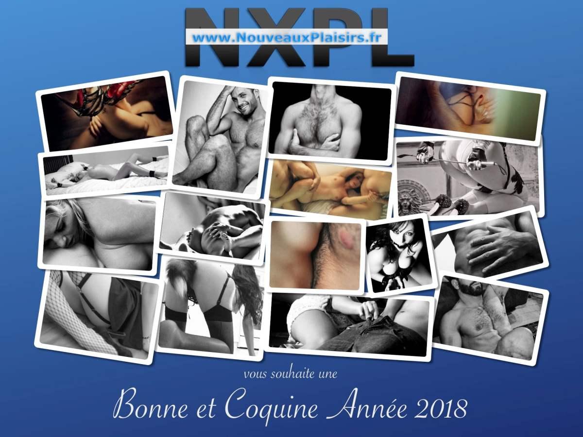 Nouveauxplaisirs.fr vous souhaite une bonne année 2018 - NXPL