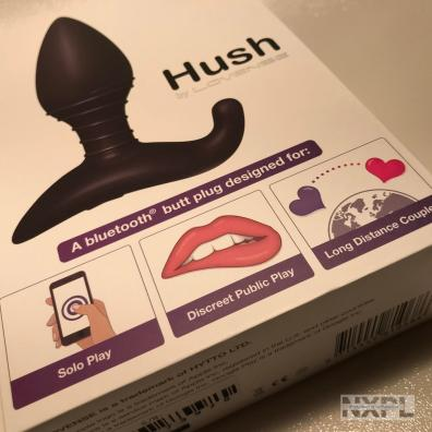 Test du plug anal connecté Lovense Hush - NXPL