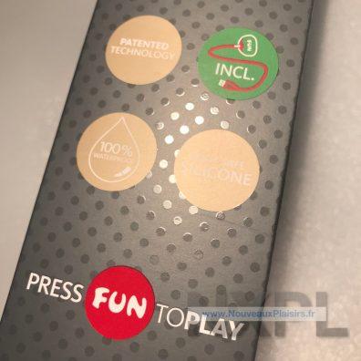 Test du Fun Factory Stronic G - NXPL