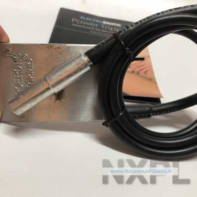 Test du Kinklab Power Tripper, extension du Neon Wand - NXPL
