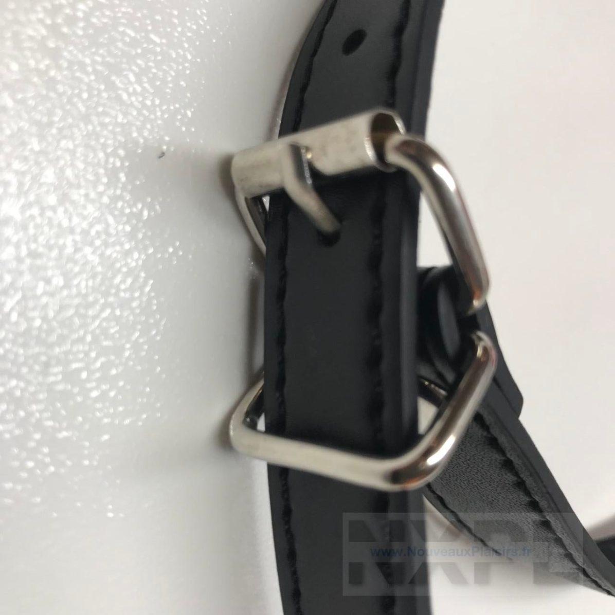 Test du baillon lèvres rouges de Concept Leather pour Dildok.com - NXPL