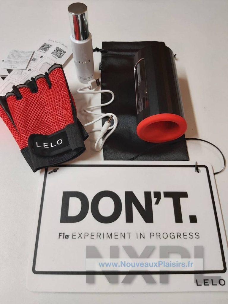 Test du masturbateur Lelo F1s Developer's Kit, un masturbateur top prêt pour la Sextech - NXPL