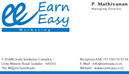 earn-easy-marketing-visiting-card