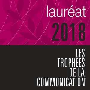laureat trophees communication 2018