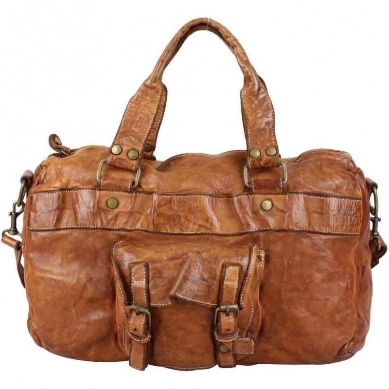 sac a main femme cuir vintage vieilli bruno rossi s 10