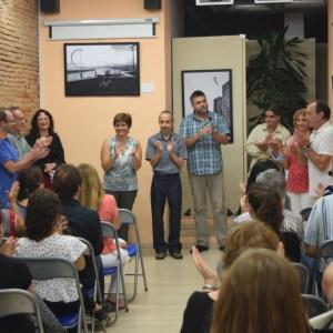 Recital de poesía en la Fiesta Mayor de Sabadell