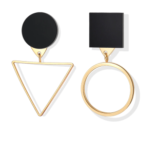 Round and Triangle Earrings - 29 Style
