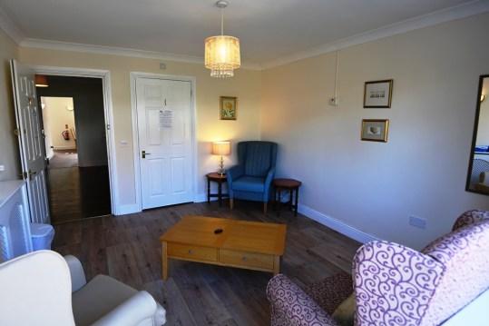 A sitting room in Nova House