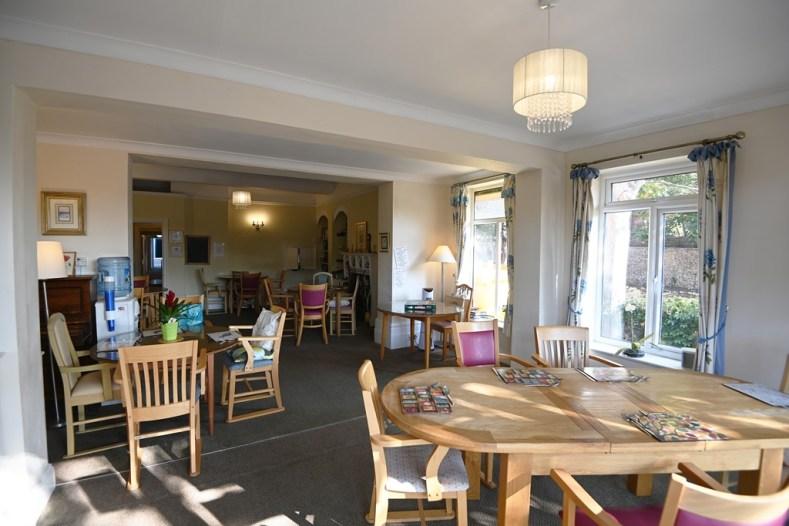 The dining room at Nova House