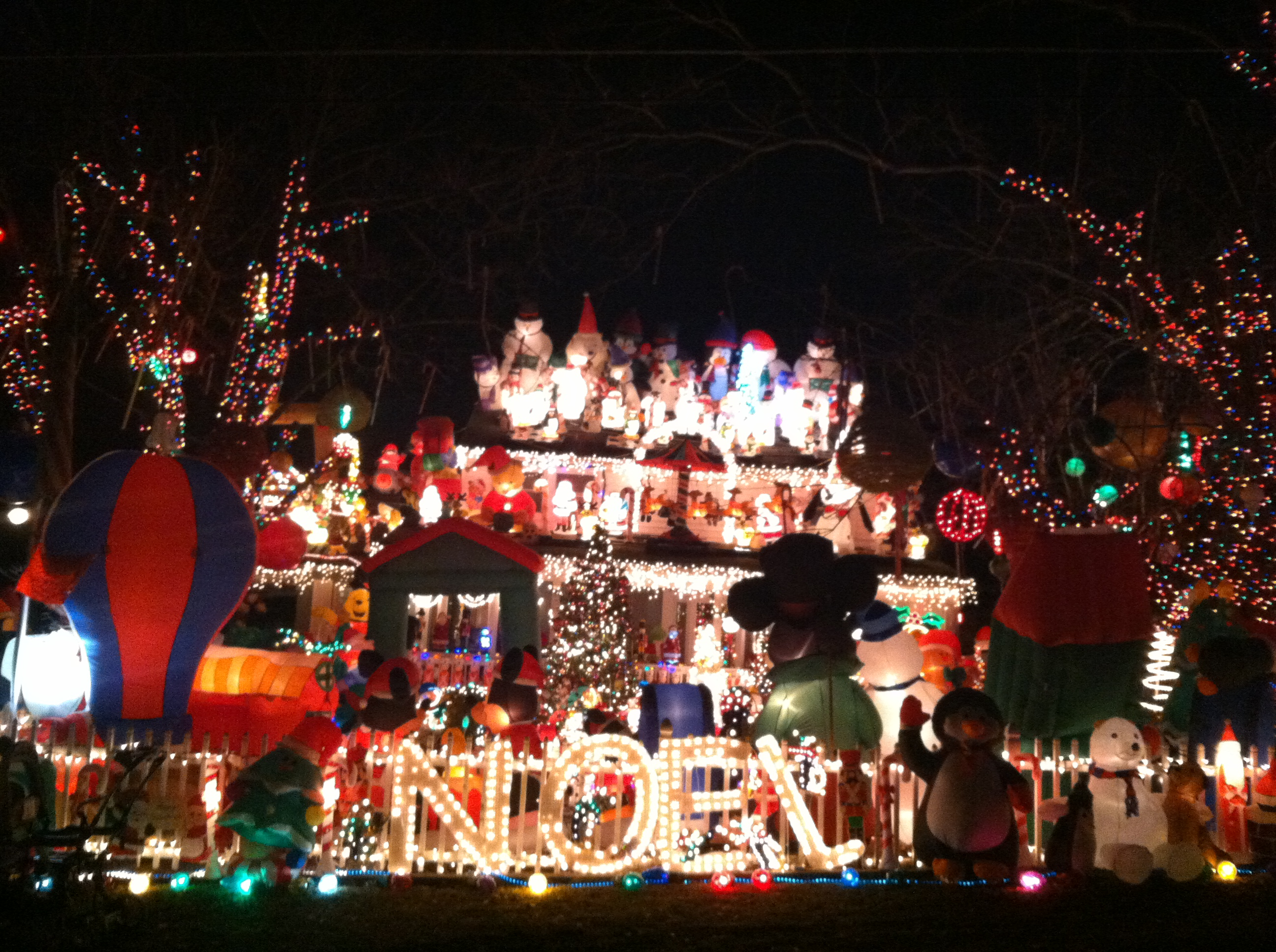 Awesome Picture of Tacky Christmas Lights Fabulous Homes