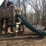 slide at Potomac Overlook Regional Park