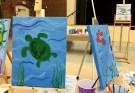 Masterpieces in progress Family Paint Night Alexandria VA Joy Troupe NOVA