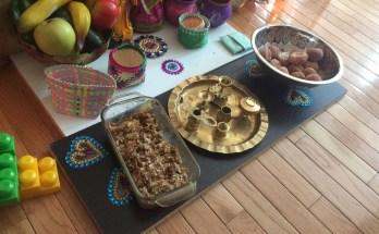 Navaratri Golu Food Offerings