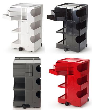 Office Furniture Joe Colombo Boby Storage Trolley