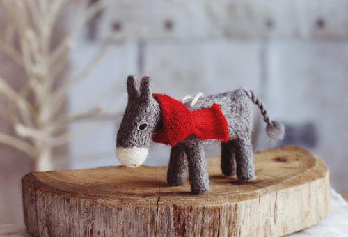Daft Donkey Christmas Tree Ornaments Set Of 8