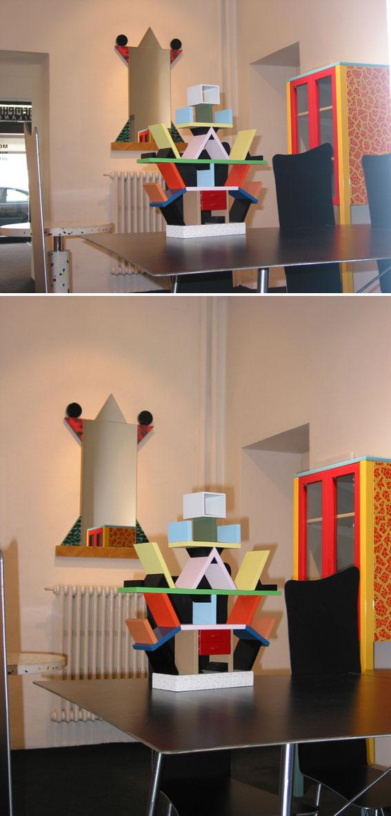 Ettore Sottsass Carlton Miniature Memphis Design