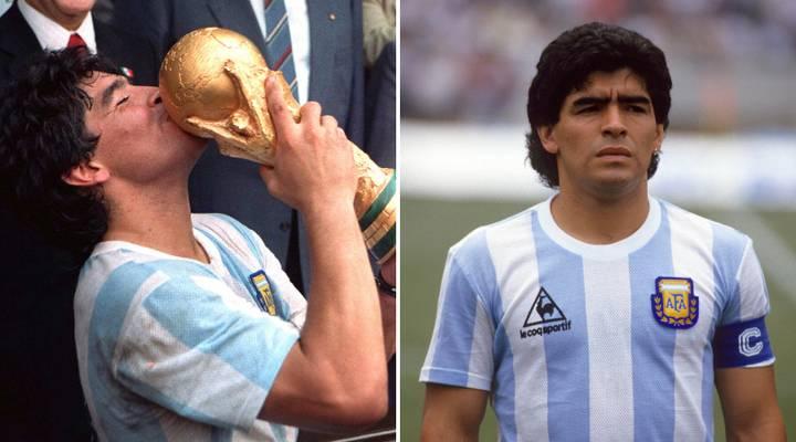 Diego Maradona Piala Dunia - Nova88 Sports