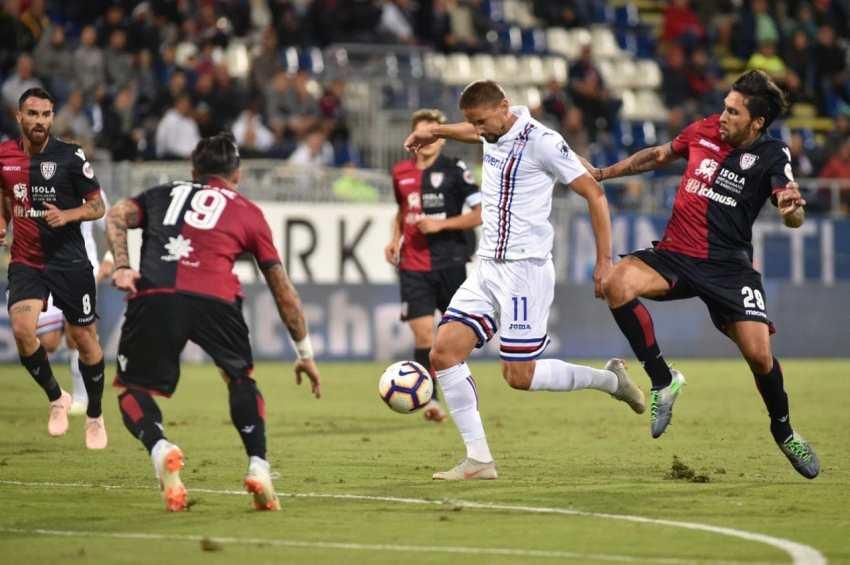 Prediksi Bola Cagliari VS Sampdoria - Nova88 Sports