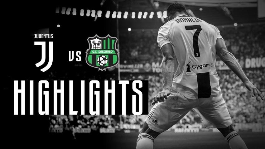 Prediksi Bola Juventus VS Sassuolo - Nova88 Sports
