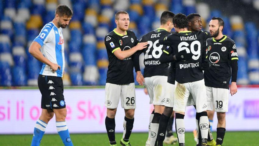 Prediksi Bola Napoli VS Spezia - Nova88 Sports