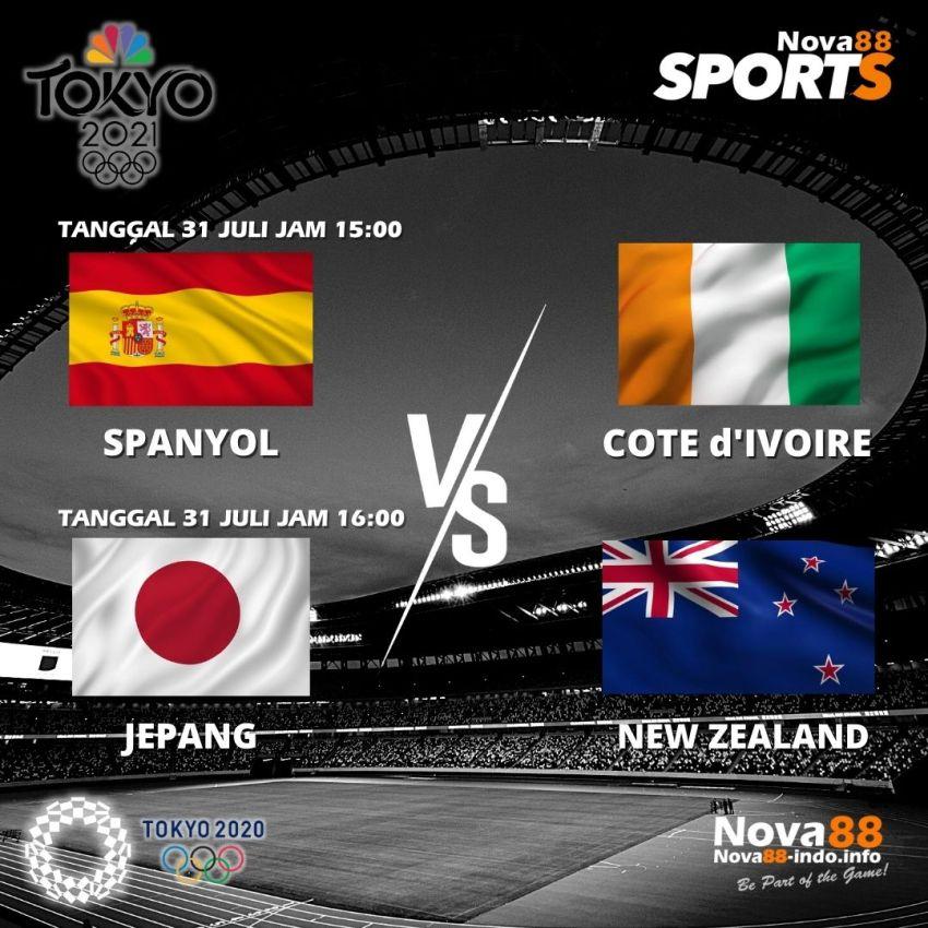 Jadwal 1 Olimpiade Tokyo 31 Juli 2021 - Nova88 Sports