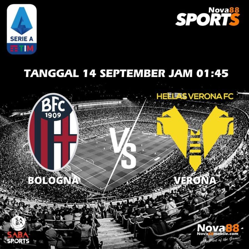Prediksi Bola Bologna VS Verona - Nova88 Sports
