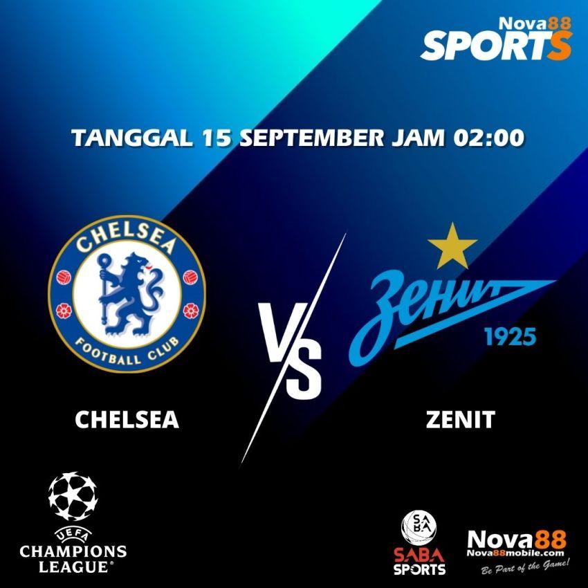 Prediksi Bola Chelsea VS Zenit - Nova88 Sports